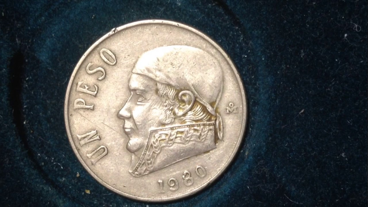 1980 Mexico Peso With Open