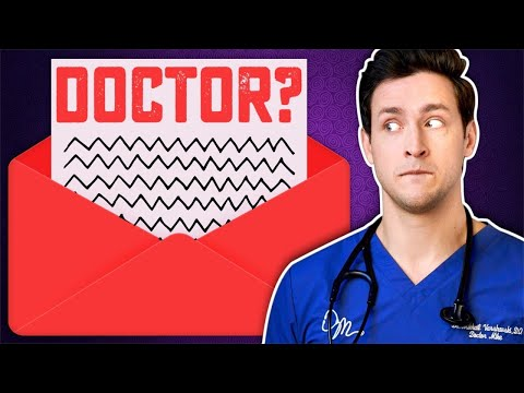 Real Doctor Takes A Career Test...