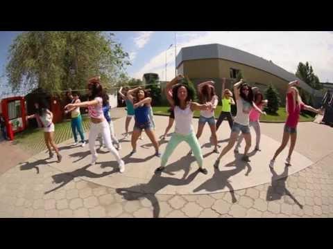 Banzai Dance Team для конкурса на лучший флэшмоб от Laimon Fresh г.Алматы