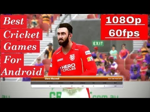 7 Best Cricket Games For Android - (2019 Updated)