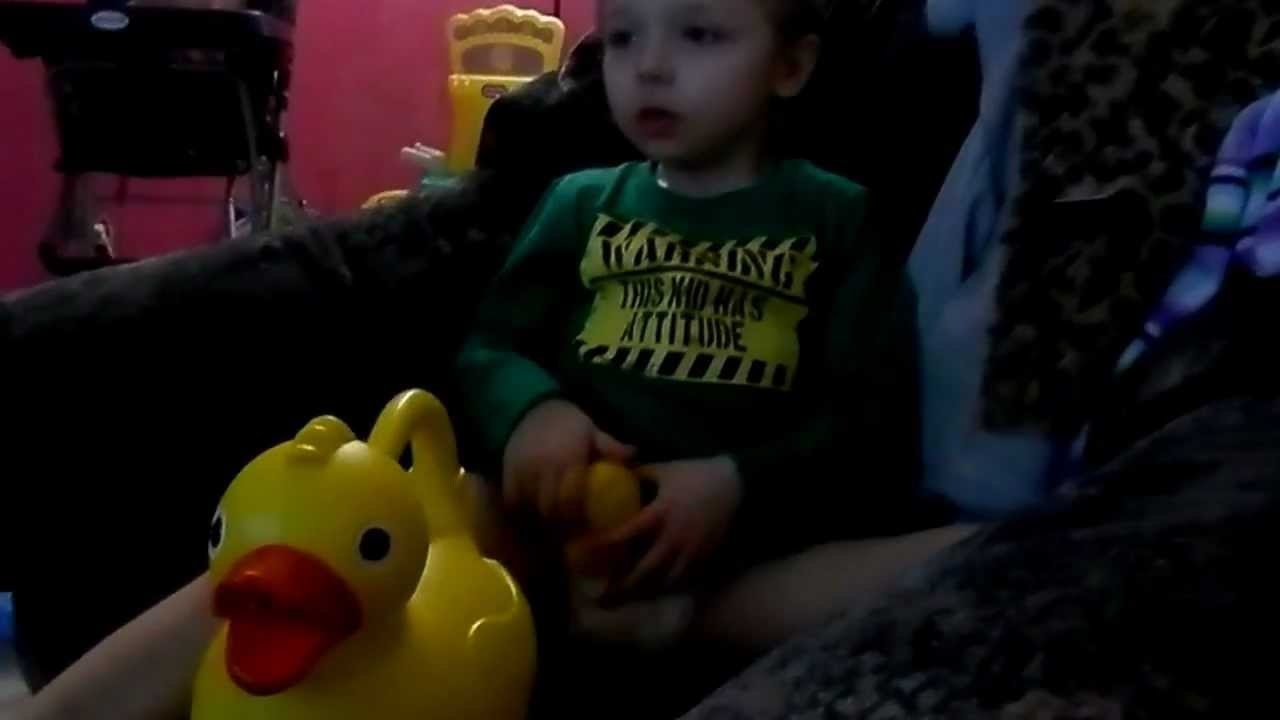 4 Year Old Autistic Boy Playing With Toys Youtube