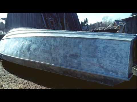Лодка Крым-3 небольшой (ремонт) тюнинг .