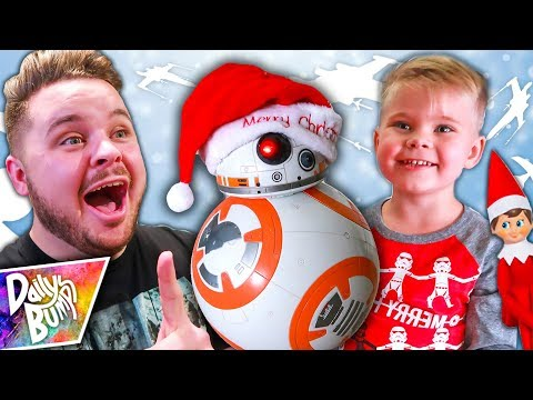 Surprise Visit From Santa BB-8!
