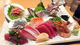 Seafood dinner at Numazu Port 沼津港で巨大かき揚げが有名な丸天は生魚地獄だがゲソ揚げはなぜ甘い?:Gourmet Reportグルメレポート