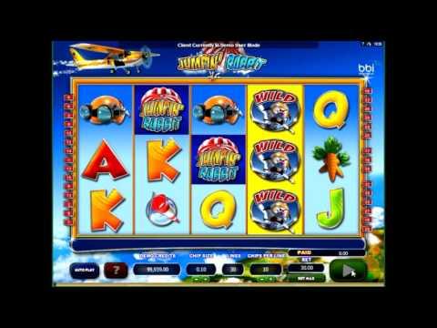 Игровой слот  Прыгающий заяц (jumpin rabit)- обзор характеристик от  casinoavtomaty.com