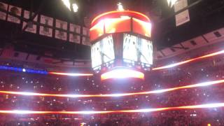 Chicago Bulls Intro Live From Stadium - CRAZY CROWD ENERGY
