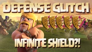 Clash of Clans - Defense Glitch, Not Getting Attacked Without Shield