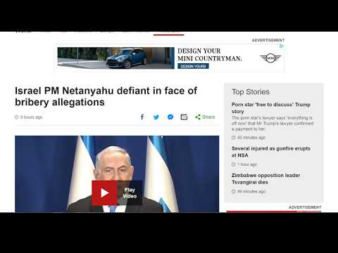 Netanyahu To Be Removed? *China & Russia Catching up to USA?