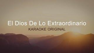 Karaoke Pista Original - El Dios De Lo Extraordinario - Tercer Cielo & Inlight