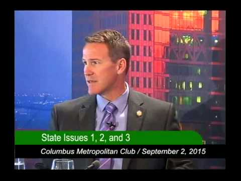 Columbus Metropolitan Club:  Ohio Secretary of State Jon Husted:  State Issues 1, 2, & 3