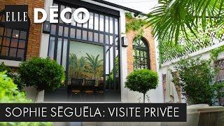 #ELLEDécoInside : découvrez la fabuleuse maison exotique de Sophie Séguéla | ELLE Déco Inside