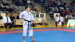 Roman Toponar GER Final Kanku Sho JKA Euro Cup 2012 Individual Kata Juniors 16-20 3rd Place.mp4