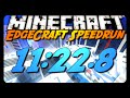 Minecraft Parkour | EdgeCraft Speedrun | 11:22.8