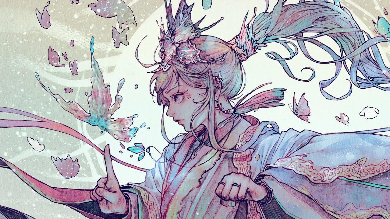 [Speed Painting] 스피드 페인팅 / 나비(butterfly)