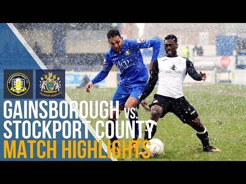 Gainsborough Trinity Vs Stockport County - Match Highlights - 17.03.2018