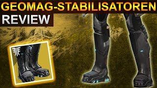 Destiny 2 Forsaken: Geomag Stabilisatoren Review / Rüstungstest (Deutsch/German)