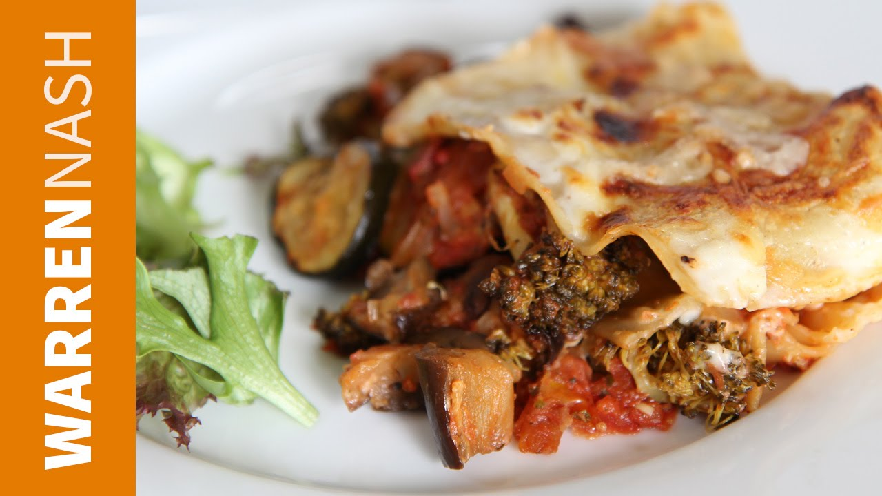 Vegetarian Lasagna Recipe Easy Italian At Home Recipes By Warren Nash