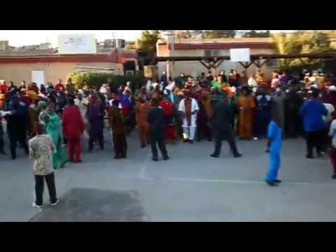 African-Hebrew-Israelite Community In Dimona, Israel - Dance For The Land 2