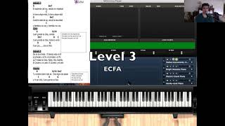 Piano Lesson: Cuan Grande Es Dios Levels 1-4