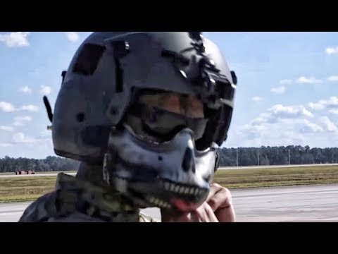Special Missions Aviation Airmen Prep Pave Hawk Helicopter