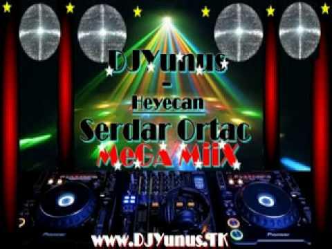 SERDAR ORTAC - HEYECAN ( CLUB - MiiX- DJYunus ) 2 2010 KOPM