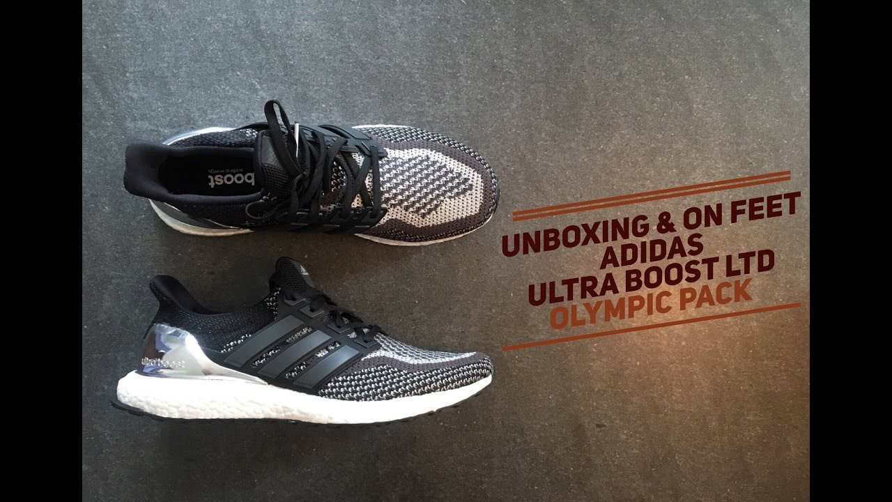 ADIDAS ULTRA BOOST LTD SILVER MEDAL OLYMPIC UNBOXING + ON FEET