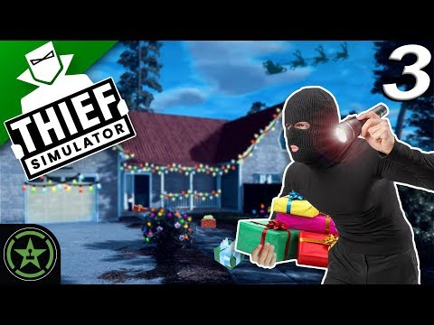 WE STEAL CHRISTMAS - Thief Simulator (Pt 3) - Lets Watch