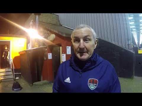 Cork city manager John caulfield after 2-0 win over bohs