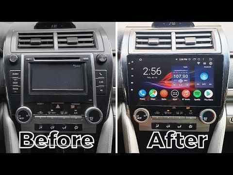 Toyota Camry 2012-2014 Android CarPlay 10.2'' Stereo By GTA Car Kits