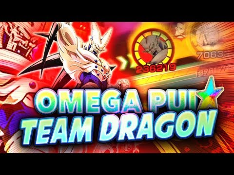 OMEGA SHENRON PUI EN TEAM DRAGON MALÉFIQUE (UN VRAI MONSTRE) - Dokkan Battle