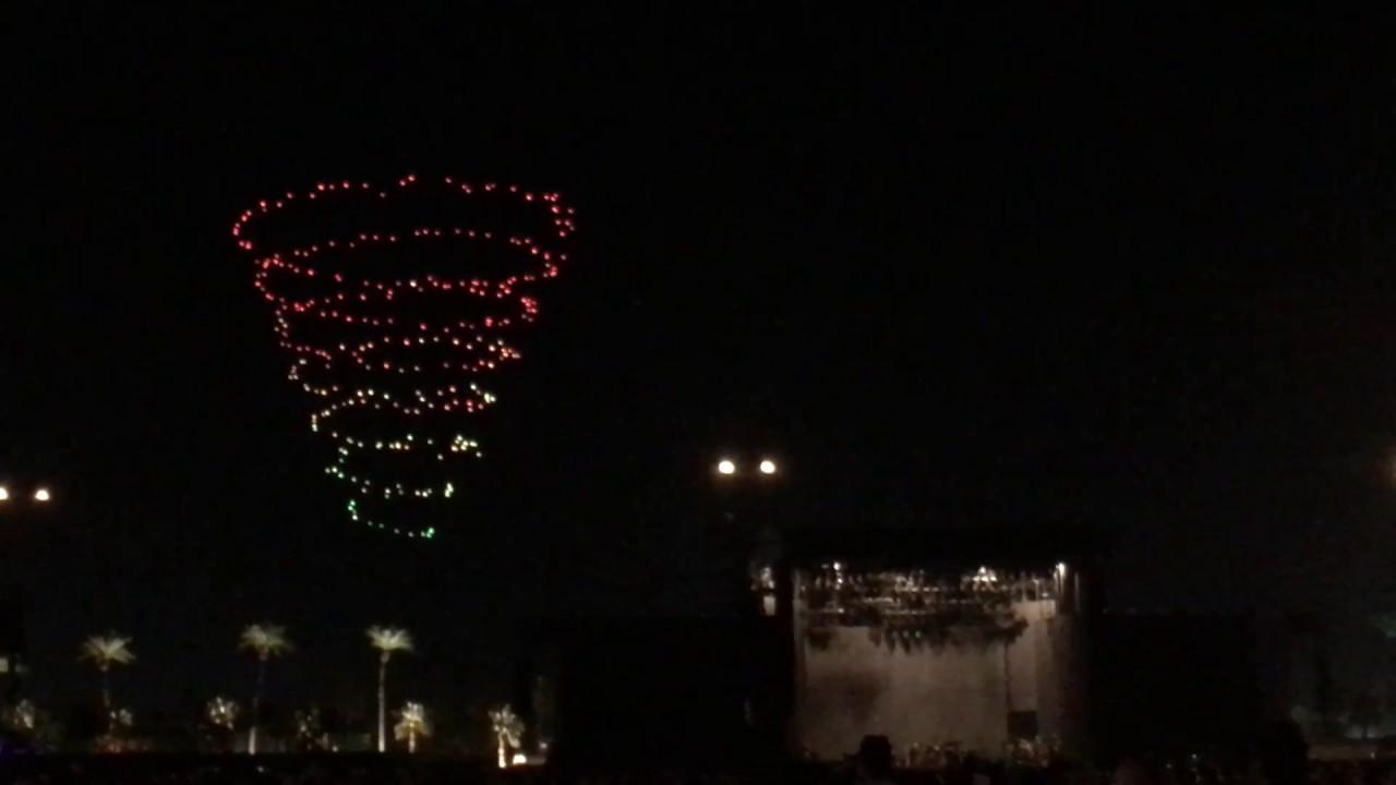 Coachella Drone Light Show Youtube