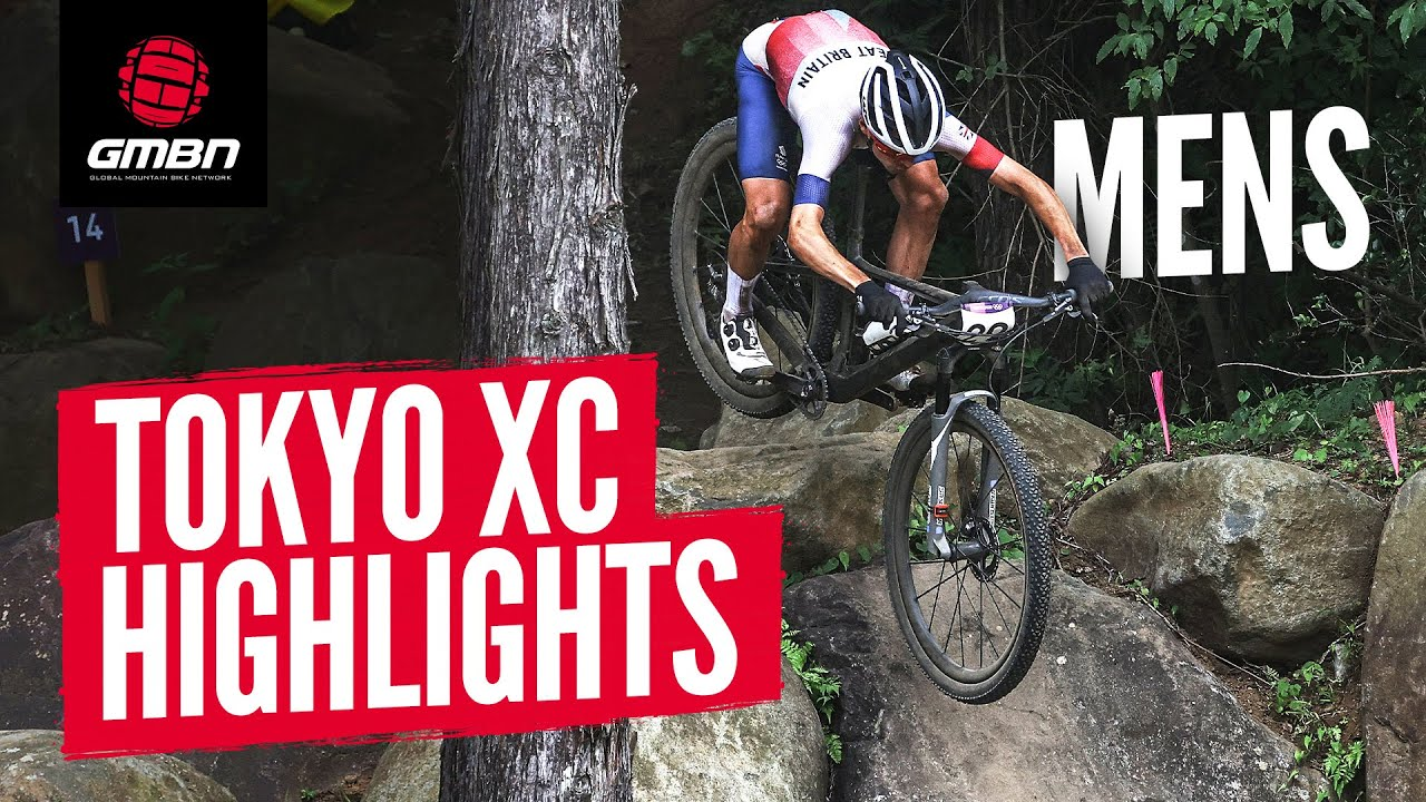 Cycling Men's Cross Country Race Highlights | Tokyo 2020