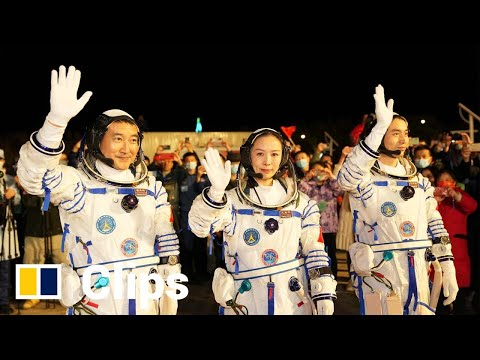 China's Shenzhou 13 launches astronauts on Tiangong space station mission