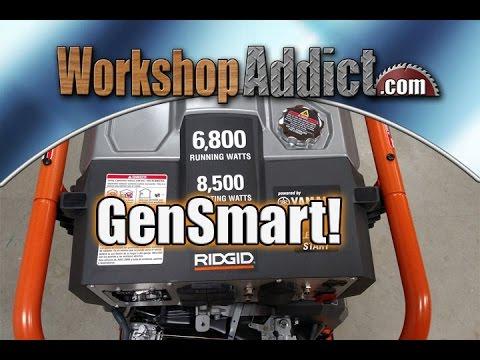 Ridgid 6800 Generator with Yamaha Motor Review Model RD906814P