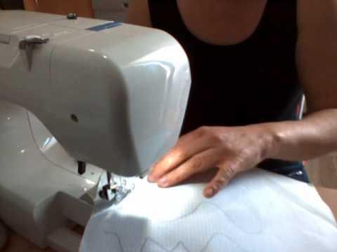 como coser con la maquina de coser la primera vez - YouTube