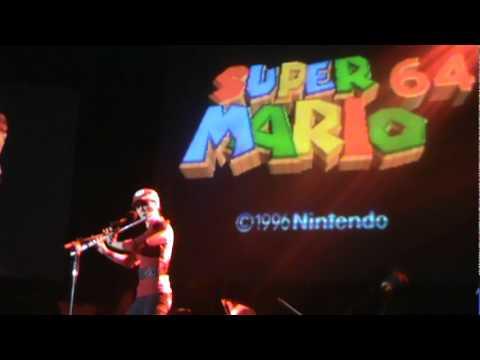 Mario  - Video Games Live - São Paulo - Brazil - Turne 2011