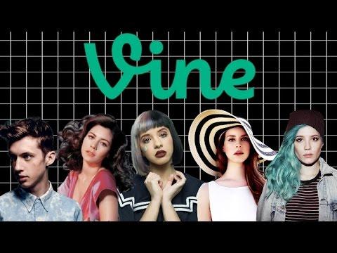 Melanie, Troye, Lana, Marina and Halsey Vines