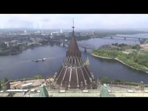 Ottawa, Ontario, Canada - Parliament Hill - Peace Tower HD (2015)