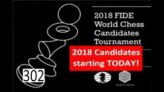 Candidates 2018 is starting today!!