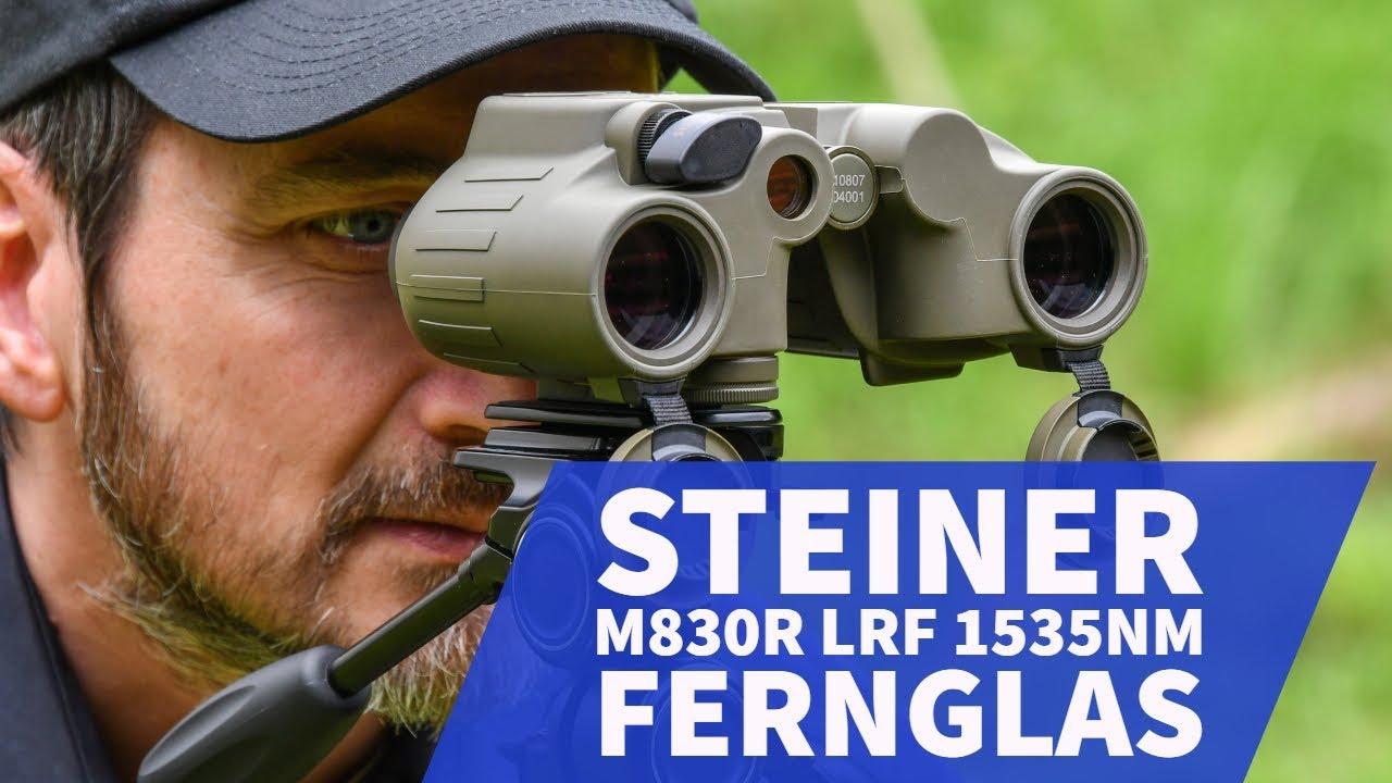 Steiner m830r lrf 1535nm fernglas mit laserentfernungsmesser für