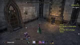 Elder Scrolls Online: Magicka Sorcerer DPS Test (39.1k)