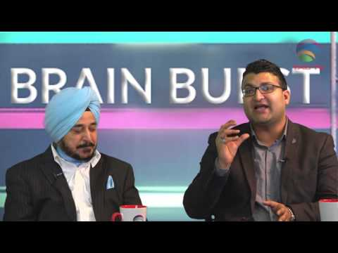 Brian Burst on Indian State Elections with Dr. Sharda @TAGTV