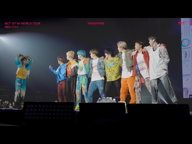 NCT 127 TAKES SINGAPORE : 1ST WORLD TOUR _NCT 127 TO THE WORLD