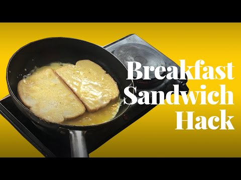 One-Pan Breakfast Sandwich Hack l You're Doing It All Wrong