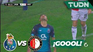 Marche salva al 'Tecatito' Corona | FC Porto 3 - 2 Feyenoord | Europa League - J 6 - Grupo G | TUDN