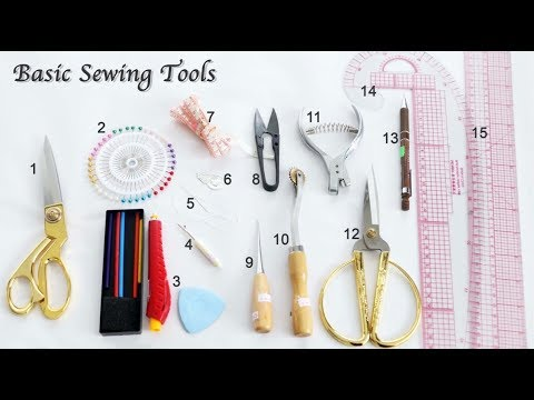 15 Basic Sewing Tools And Equipment What Beginner Should Have - Sewing Lesson For Beginner