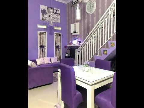 Inspirasi Rumah Minimalis Tema Warna Ungu. Purple Home Decor - YouTube