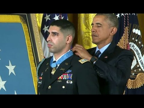 Retired Army captain awarded military's highest honor