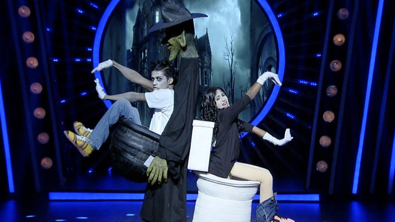 Download D4 Junior Vs Senior I Isha & Vyshak with scary performance I Mazhavil Manorama