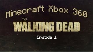 Minecraft Xbox 360: The Walking Dead - Episode 1 W/ Download